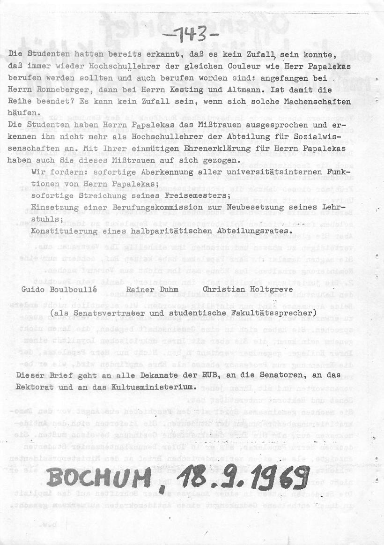 Bochum_VDS_1969_RUB_Berufungspolitik_152