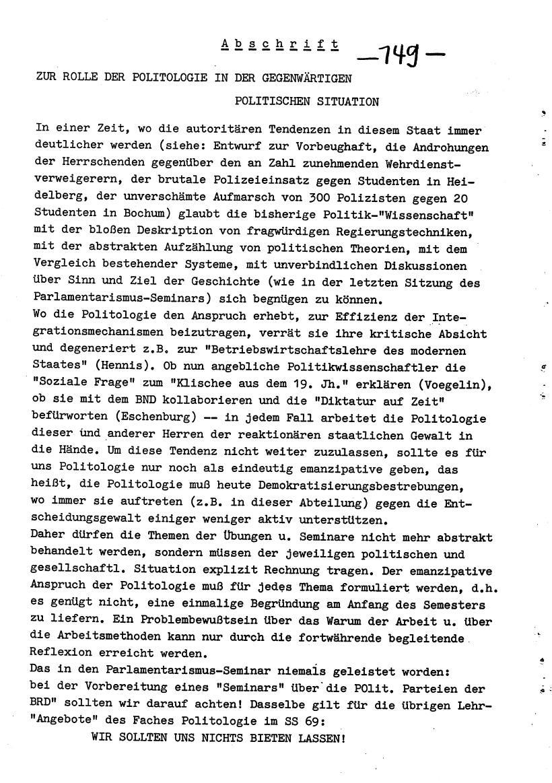 Bochum_VDS_1969_RUB_Berufungspolitik_158