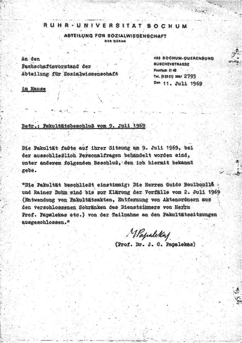 Bochum_VDS_1969_RUB_Berufungspolitik_161