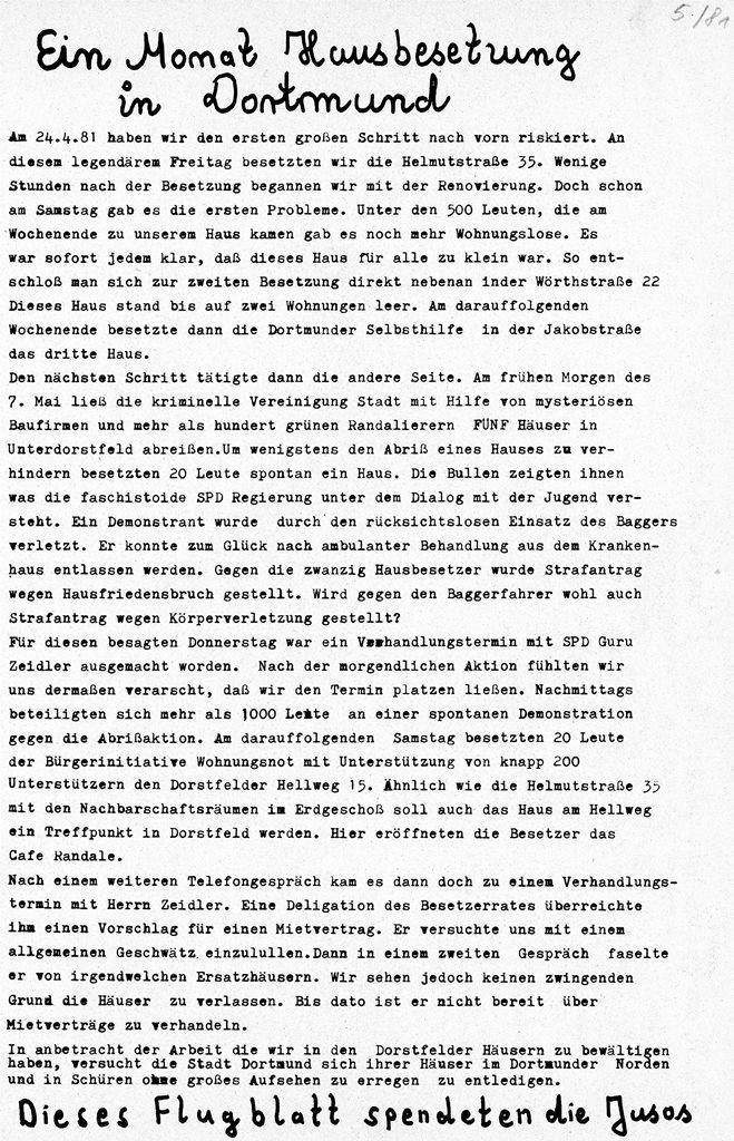 Dortmund_Hausbesetzungen_Helmutstrasse_3_1981_05
