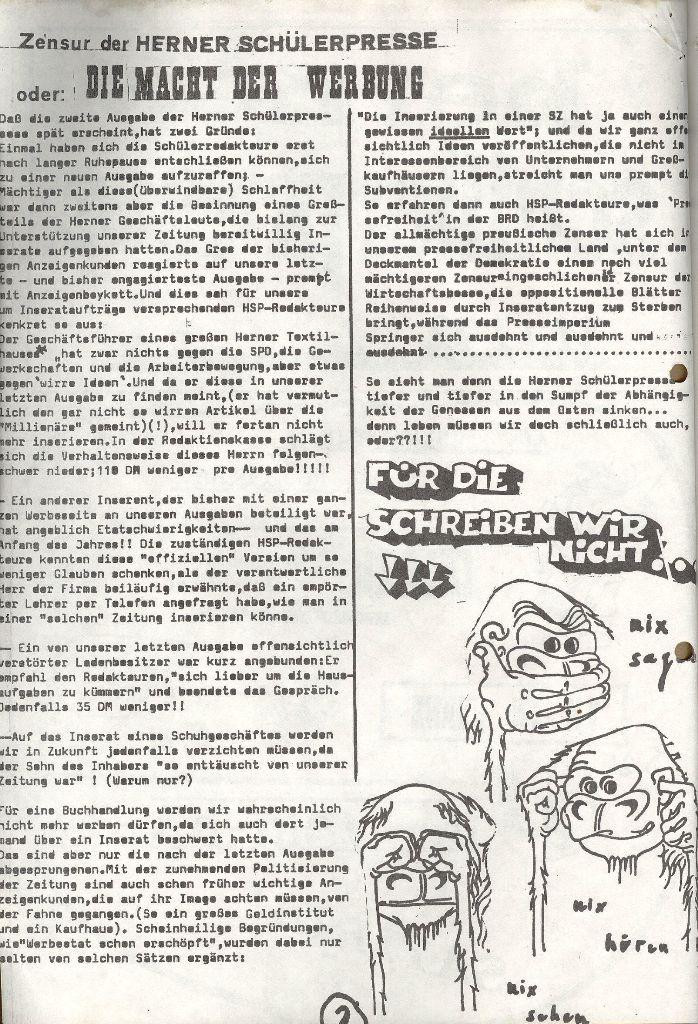 Herner Schülerpresse, Mai 1972, Seite 2