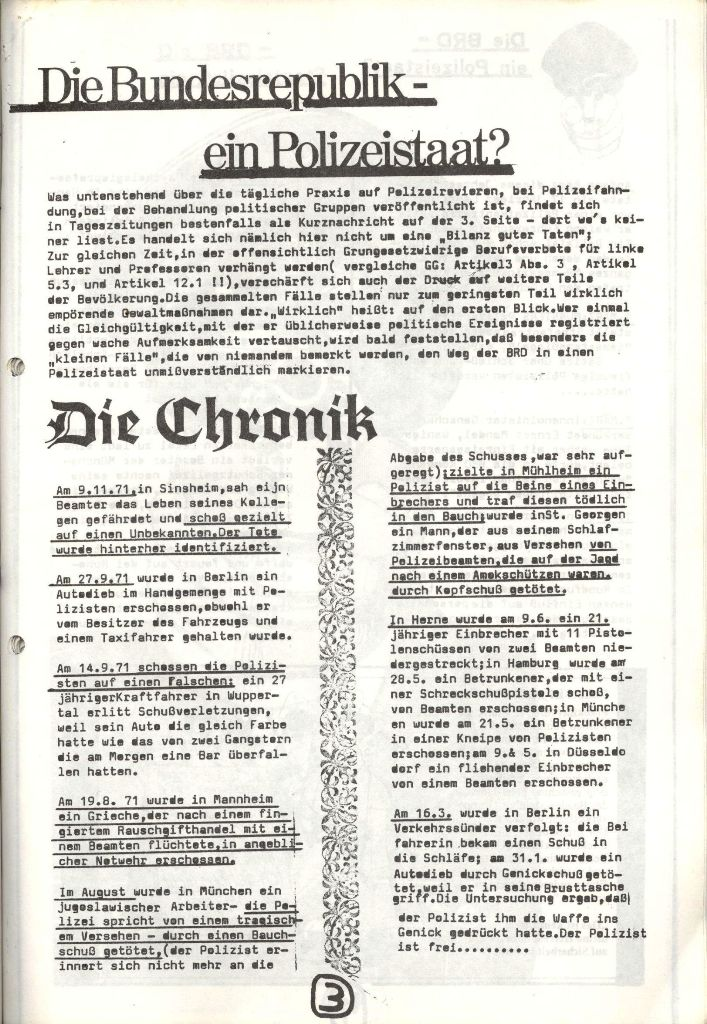 Herner Schülerpresse, Mai 1972, Seite 3