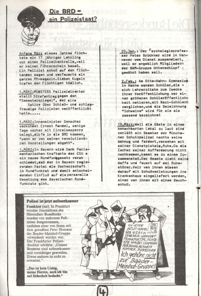 Herner Schülerpresse, Mai 1972, Seite 4