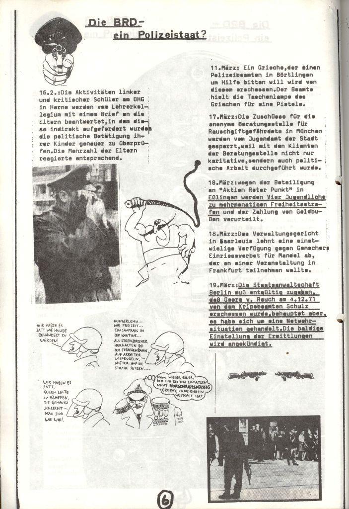 Herner Schülerpresse, Mai 1972, Seite 6