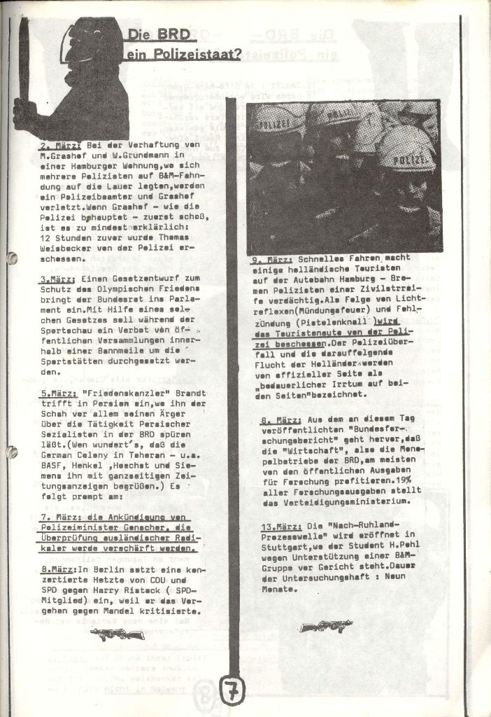 Herner Schülerpresse, Mai 1972, Seite 7