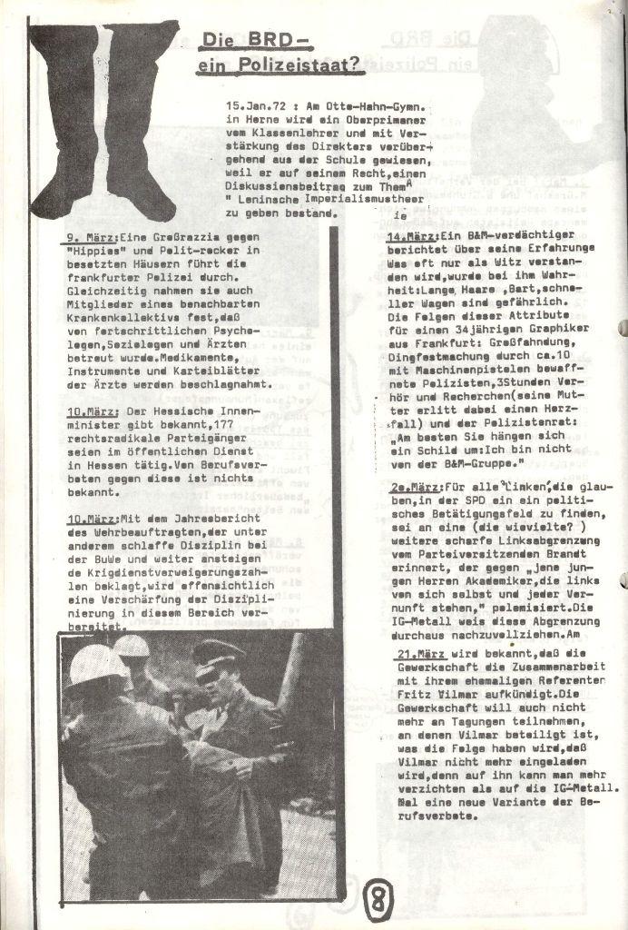 Herner Schülerpresse, Mai 1972, Seite 8