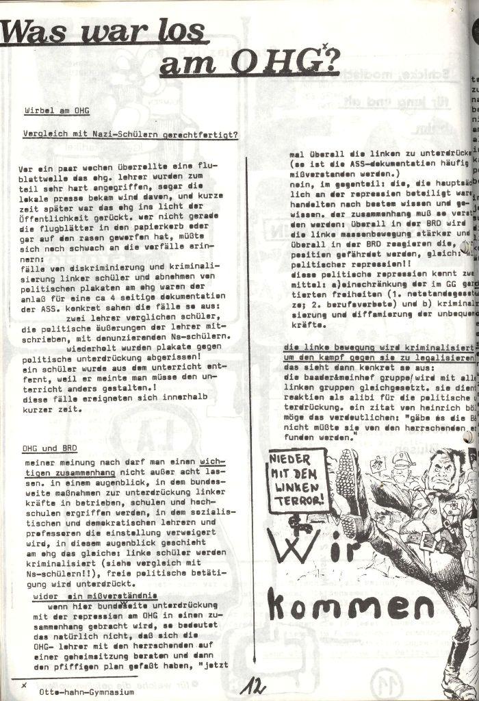 Herner Schülerpresse, Mai 1972, Seite 12