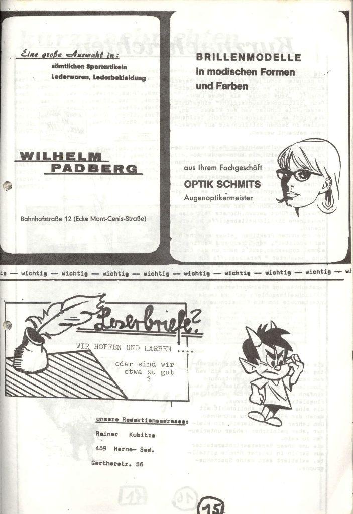 Herner Schülerpresse, Mai 1972, Seite 15