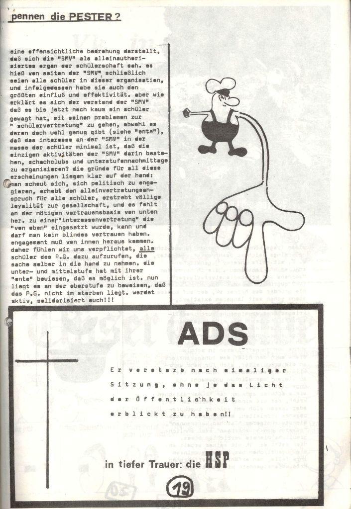 Herner Schülerpresse, Mai 1972, Seite 19