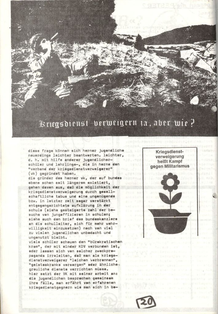 Herner Schülerpresse, Mai 1972, Seite 20