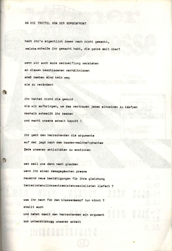 Herner Schülerpresse, Mai 1972, Seite 31