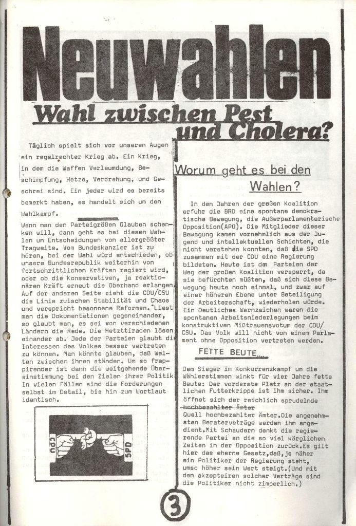 Herner Schülerpresse, Nov. 1972, Seite 3