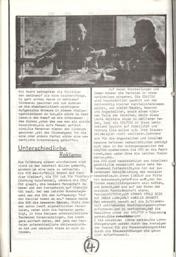 Herner Schülerpresse, Nov. 1972, Seite 4