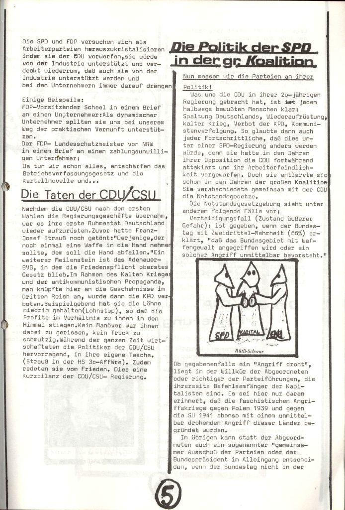 Herner Schülerpresse, Nov. 1972, Seite 5