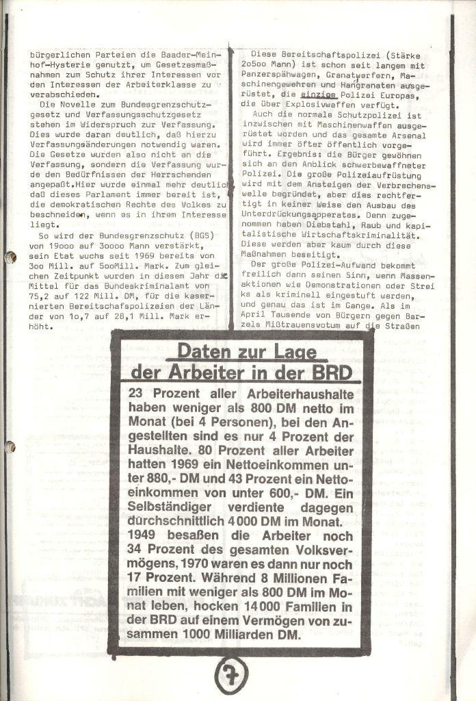 Herner Schülerpresse, Nov. 1972, Seite 7