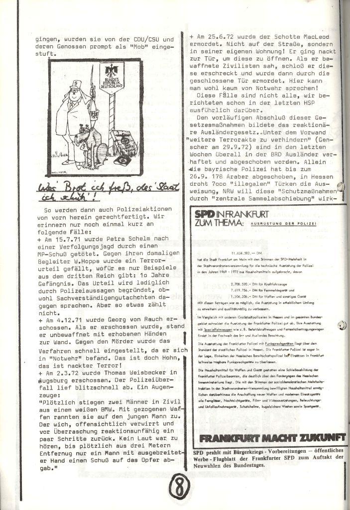 Herner Schülerpresse, Nov. 1972, Seite 8