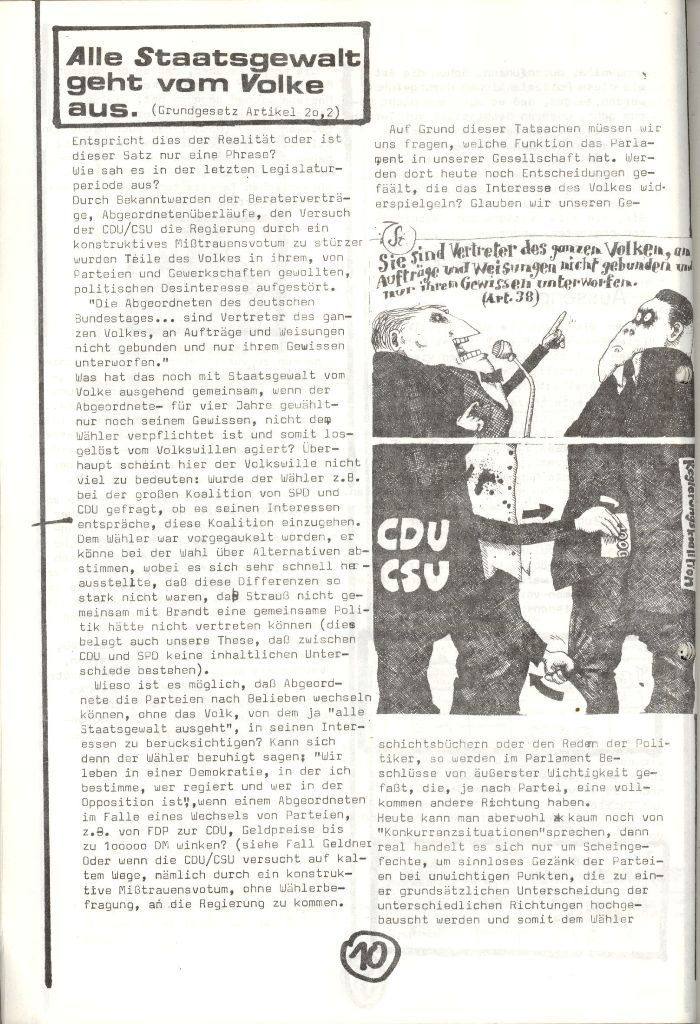 Herner Schülerpresse, Nov. 1972, Seite 10