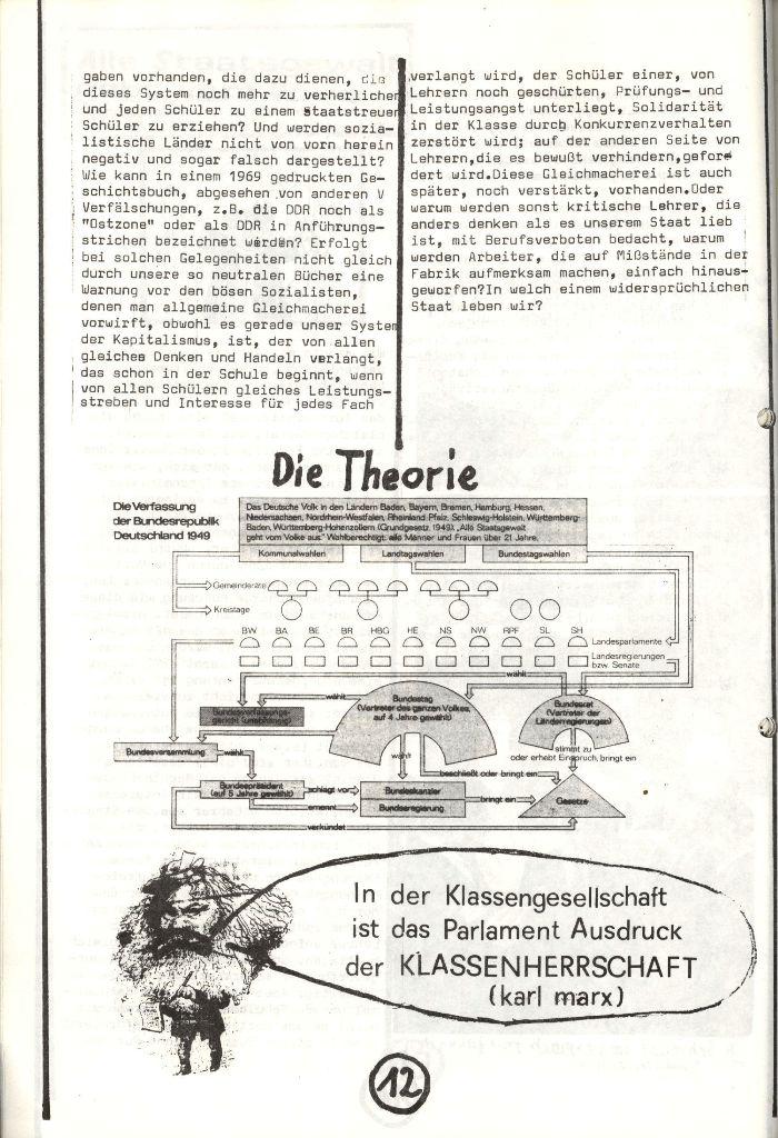 Herner Schülerpresse, Nov. 1972, Seite 12