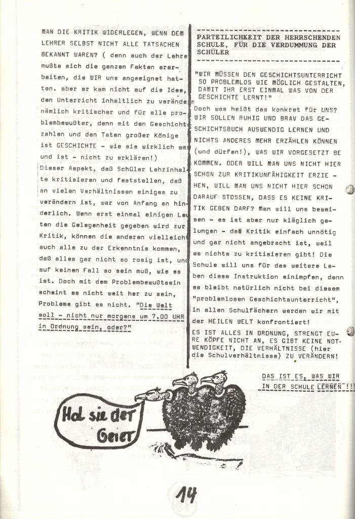 Herner Schülerpresse, Nov. 1972, Seite 14