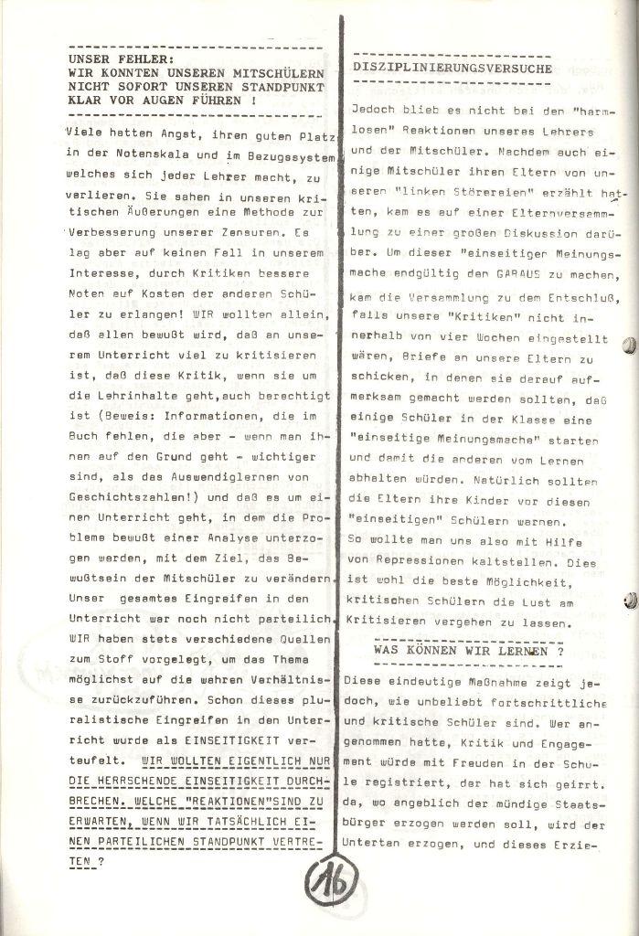 Herner Schülerpresse, Nov. 1972, Seite 16