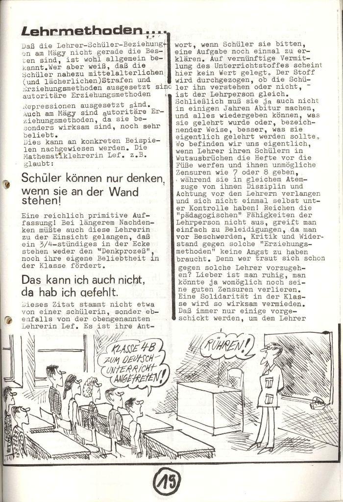 Herner Schülerpresse, Nov. 1972, Seite 19