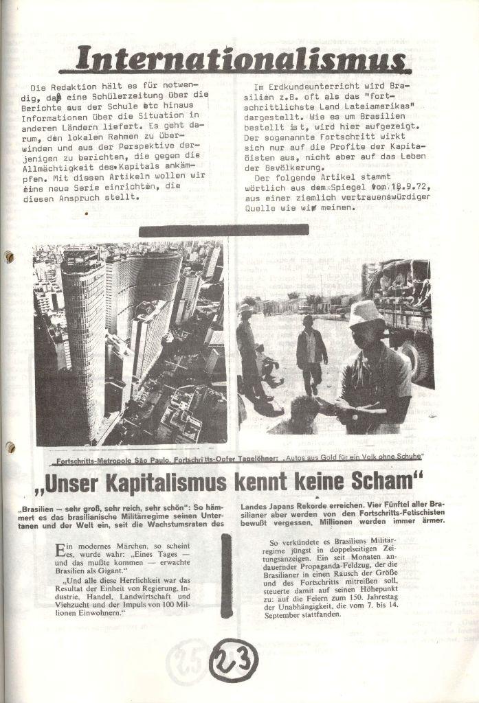 Herner Schülerpresse, Nov. 1972, Seite 23