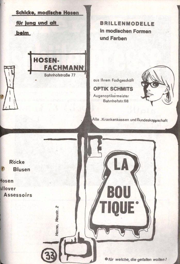 Herner Schülerpresse, Nov. 1972, Seite 33