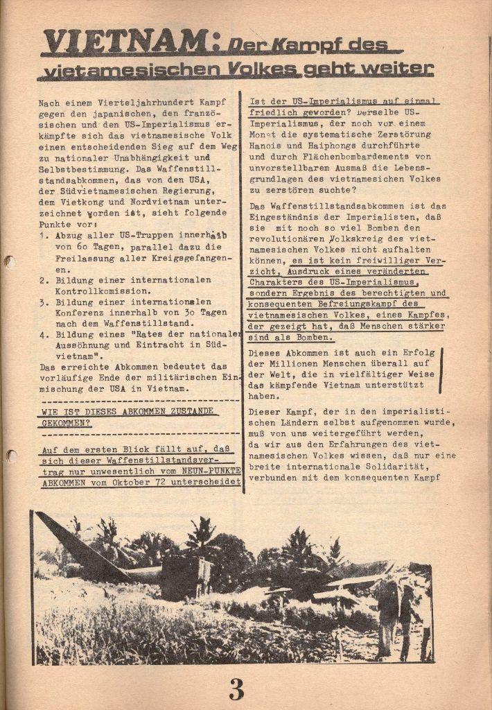 Herner Schülerpresse, 1/73, Seite 3