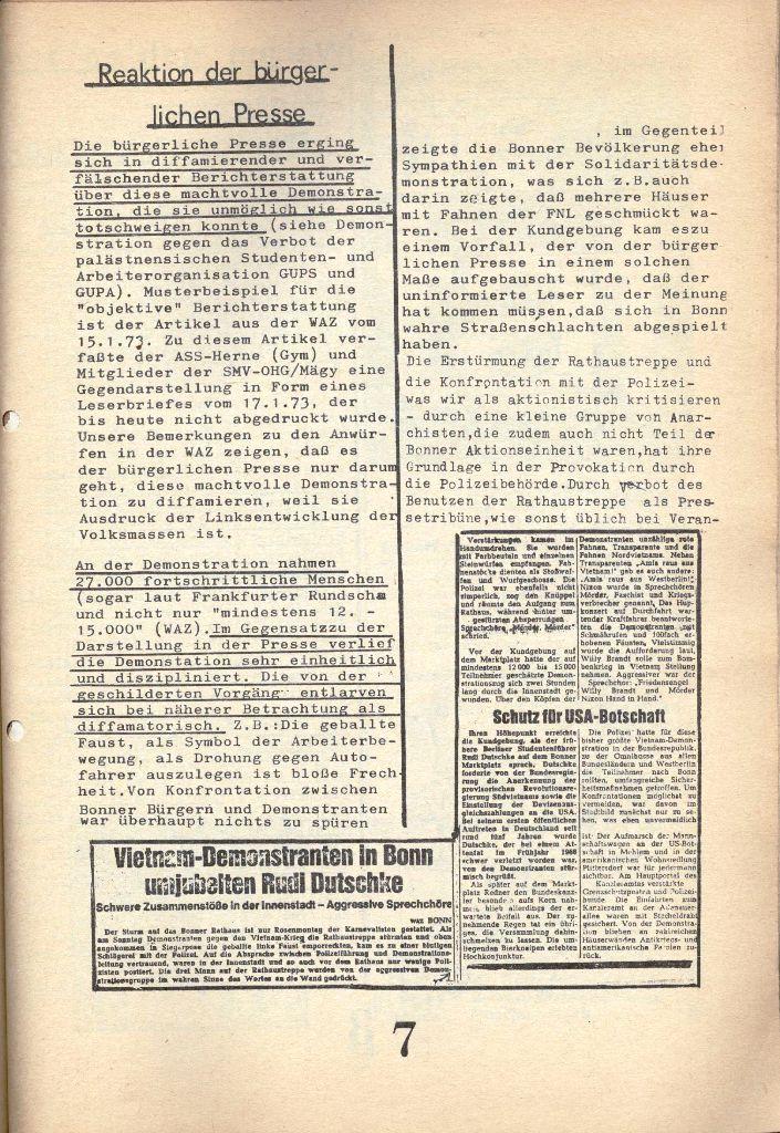 Herner Schülerpresse, 1/73, Seite 7