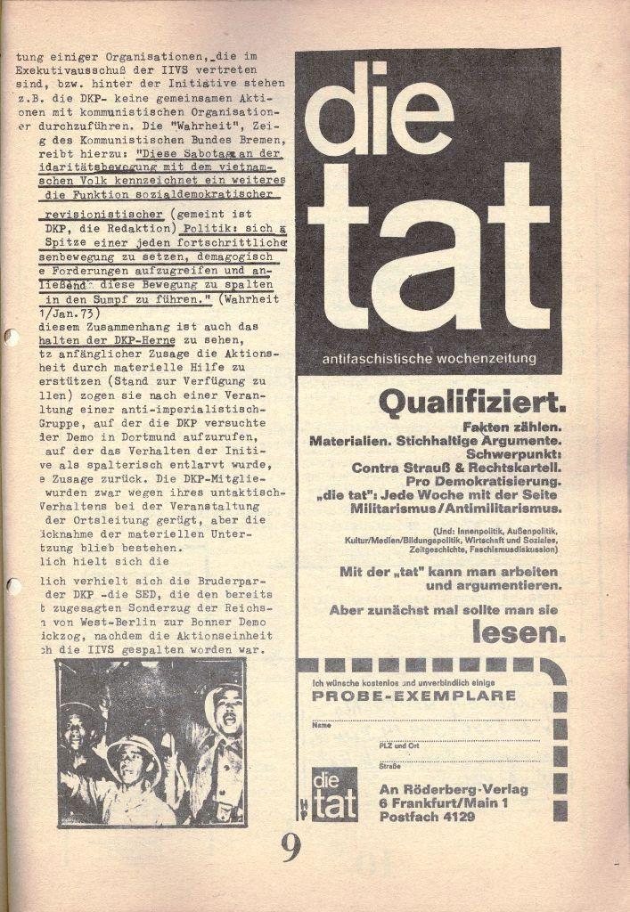 Herner Schülerpresse, 1/73, Seite 9