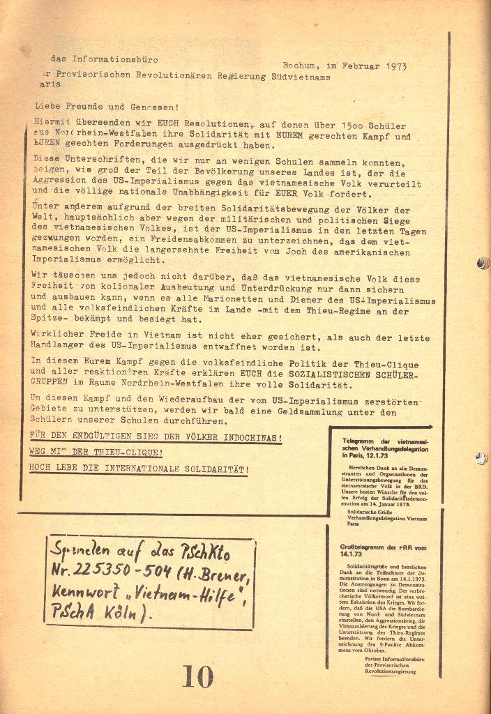 Herner Schülerpresse, 1/73, Seite 10