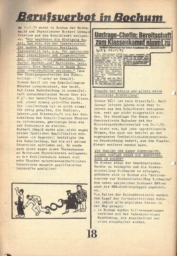 Herner Schülerpresse, 1/73, Seite 18
