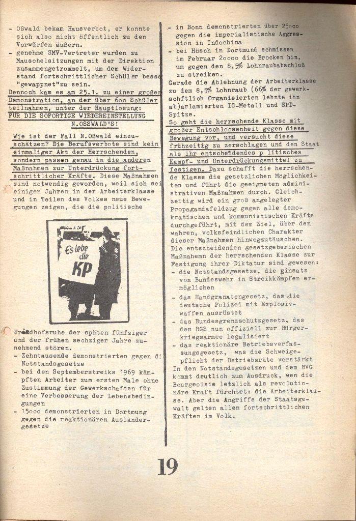 Herner Schülerpresse, 1/73, Seite 19