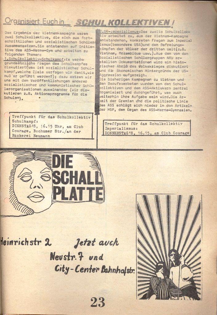 Herner Schülerpresse, 1/73, Seite 23