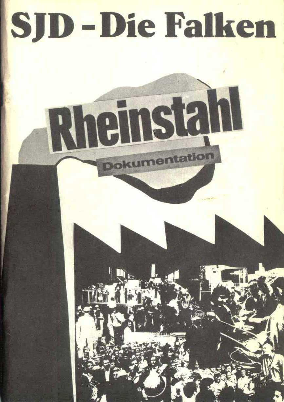 Rheinstal_Dokumentation der SJD_Die Falken, Bezirk Ostwestfalen_Lippe [1973], Seite 1