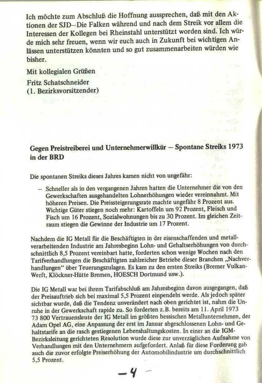 Rheinstal_Dokumentation der SJD_Die Falken, Bezirk Ostwestfalen_Lippe [1973], Seite 4