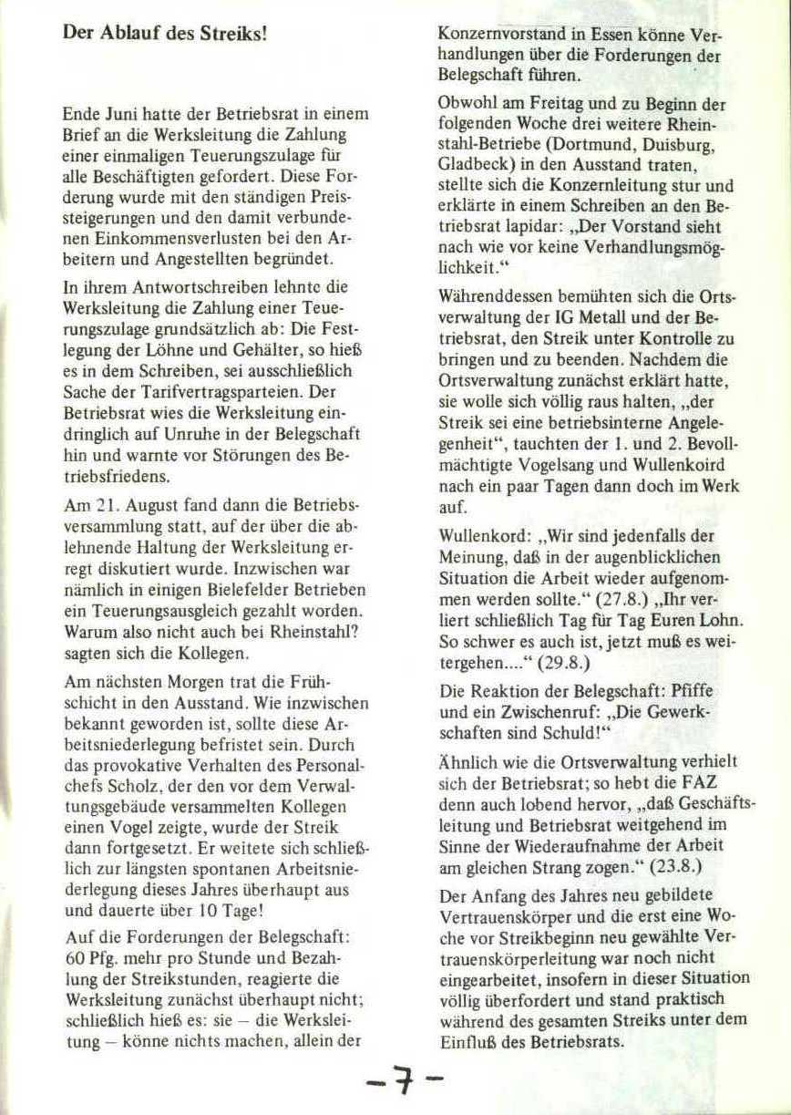 Rheinstal_Dokumentation der SJD_Die Falken, Bezirk Ostwestfalen_Lippe [1973], Seite 7