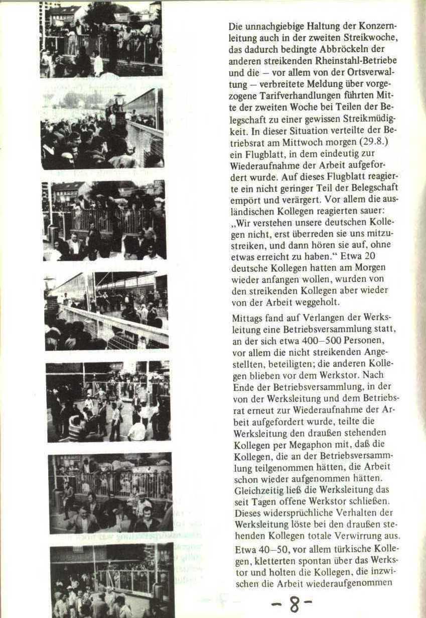 Rheinstal_Dokumentation der SJD_Die Falken, Bezirk Ostwestfalen_Lippe [1973], Seite 8