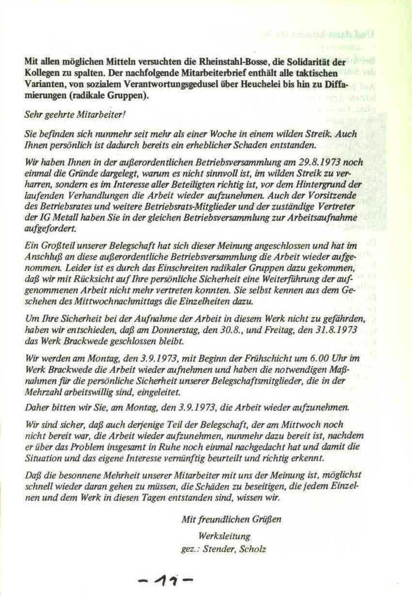Rheinstal_Dokumentation der SJD_Die Falken, Bezirk Ostwestfalen_Lippe [1973], Seite 11