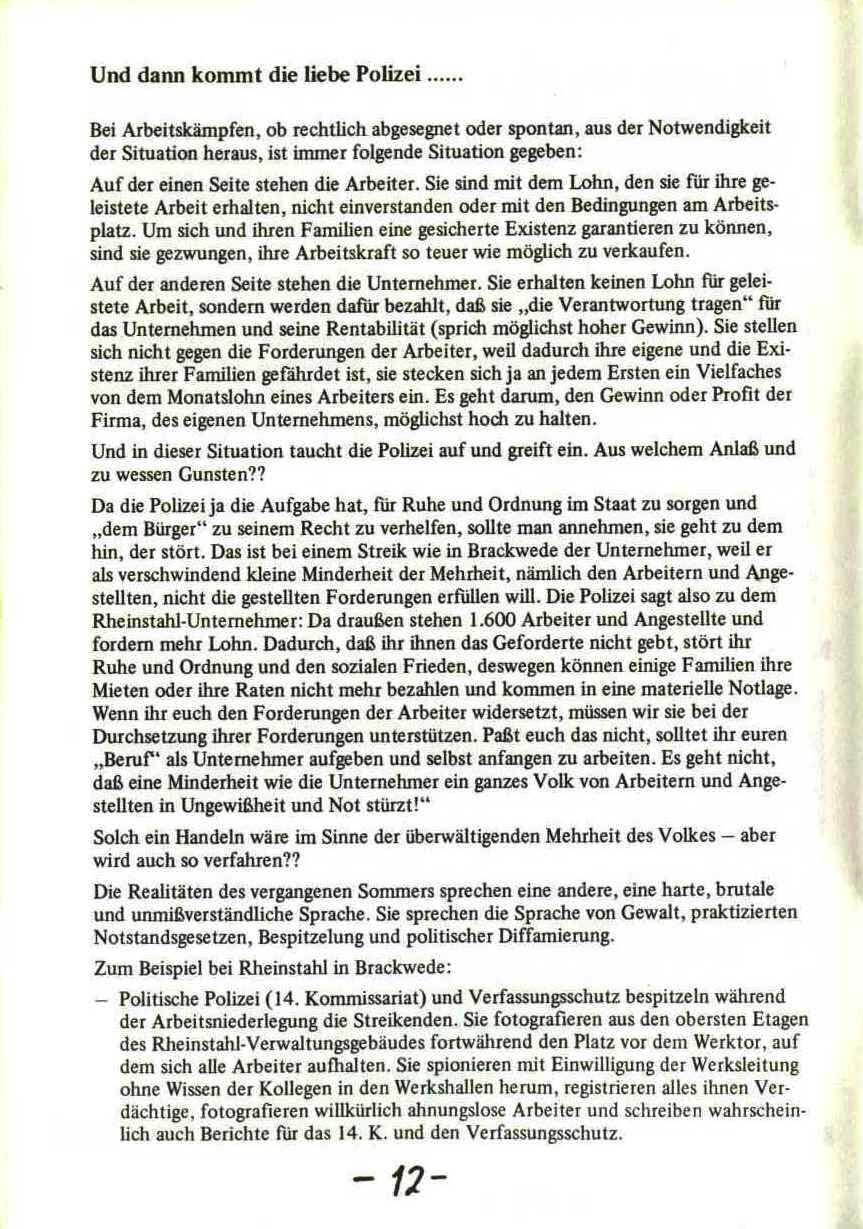 Rheinstal_Dokumentation der SJD_Die Falken, Bezirk Ostwestfalen_Lippe [1973], Seite 12