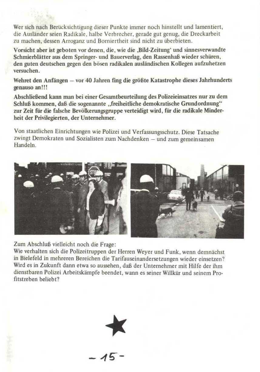 Rheinstal_Dokumentation der SJD_Die Falken, Bezirk Ostwestfalen_Lippe [1973], Seite 15