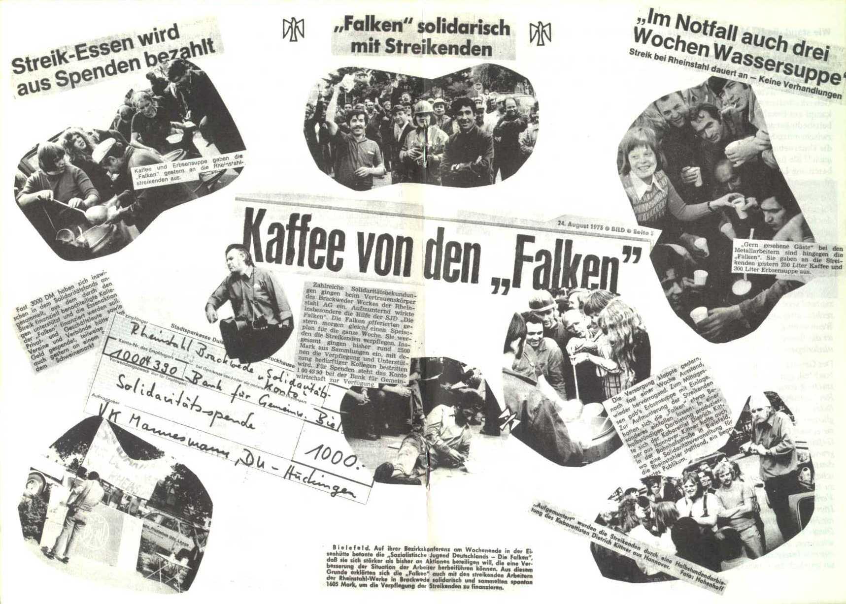 Rheinstal_Dokumentation der SJD_Die Falken, Bezirk Ostwestfalen_Lippe [1973], Seite 16 und 17