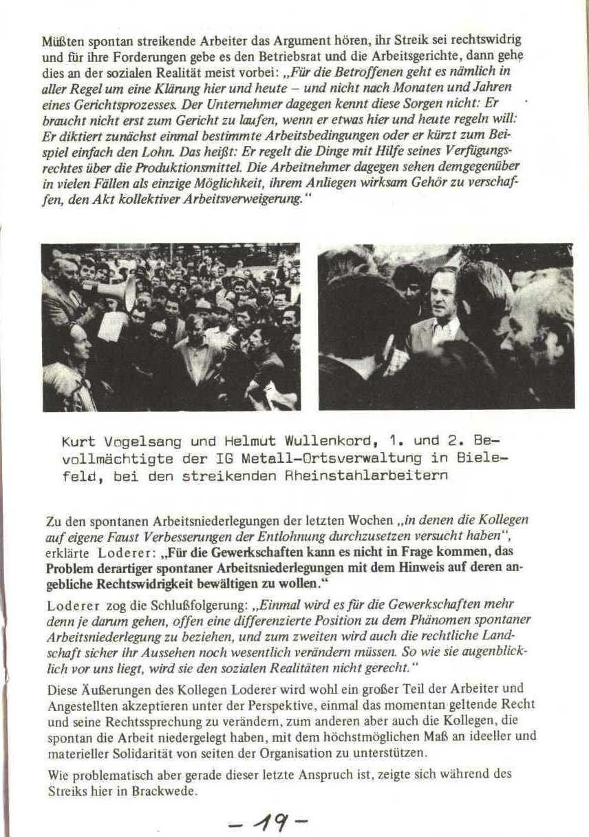 Rheinstal_Dokumentation der SJD_Die Falken, Bezirk Ostwestfalen_Lippe [1973], Seite 19