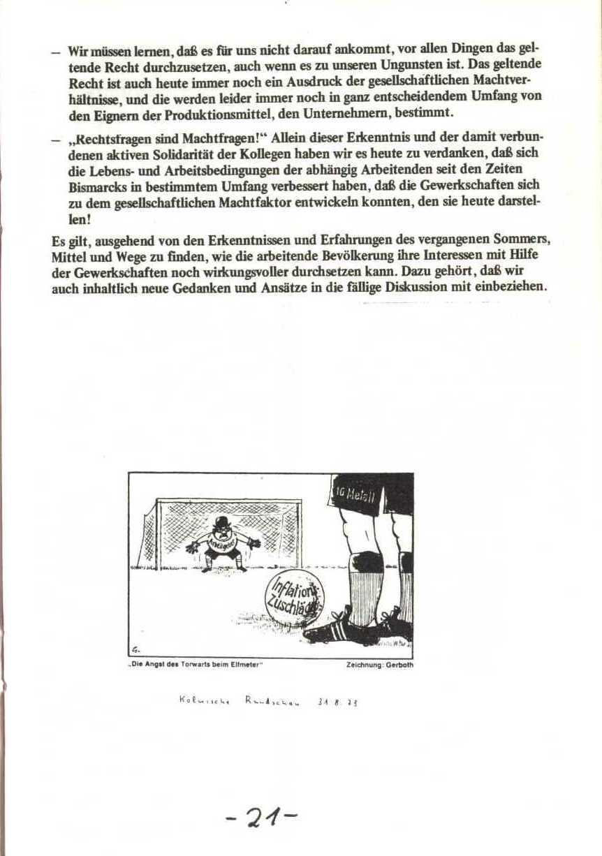 Rheinstal_Dokumentation der SJD_Die Falken, Bezirk Ostwestfalen_Lippe [1973], Seite 21