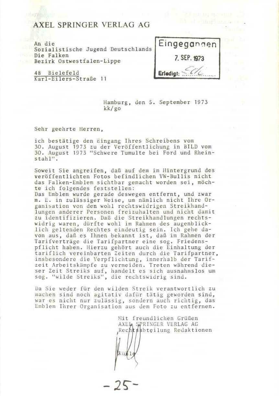 Rheinstal_Dokumentation der SJD_Die Falken, Bezirk Ostwestfalen_Lippe [1973], Seite 25