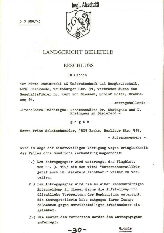 Rheinstal_Dokumentation der SJD_Die Falken, Bezirk Ostwestfalen_Lippe [1973], Seite 30