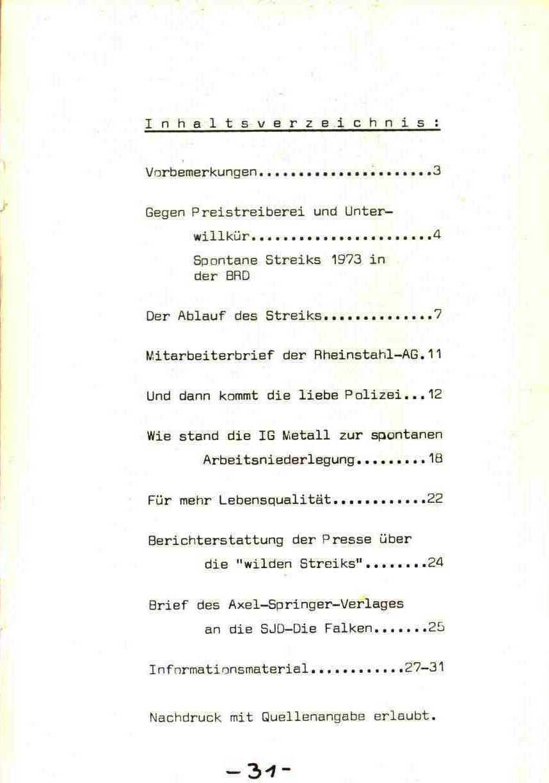 Rheinstal_Dokumentation der SJD_Die Falken, Bezirk Ostwestfalen_Lippe [1973], Seite 31