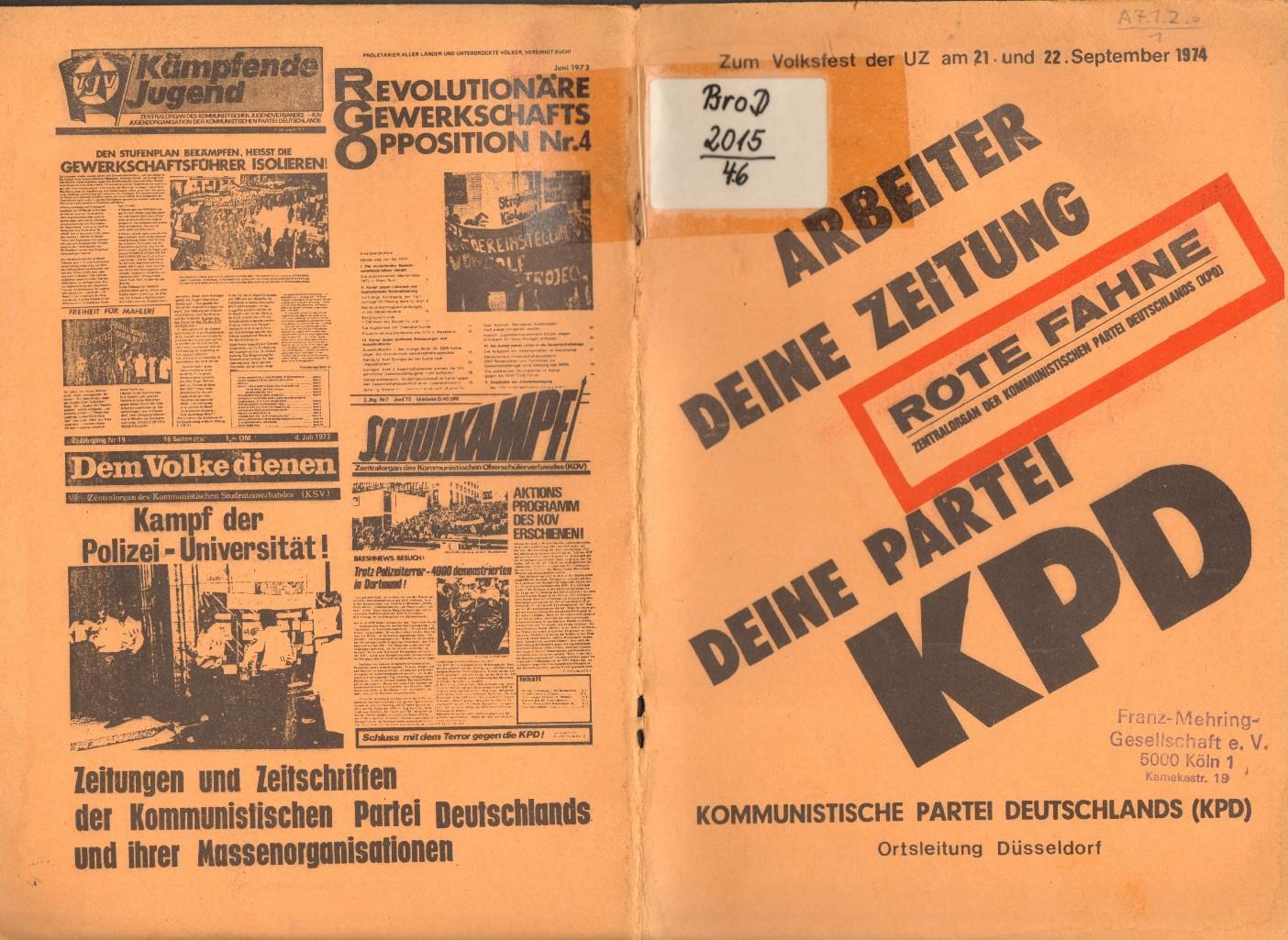 Duesseldorf_KPD_1974_Deine_Zeitung_01