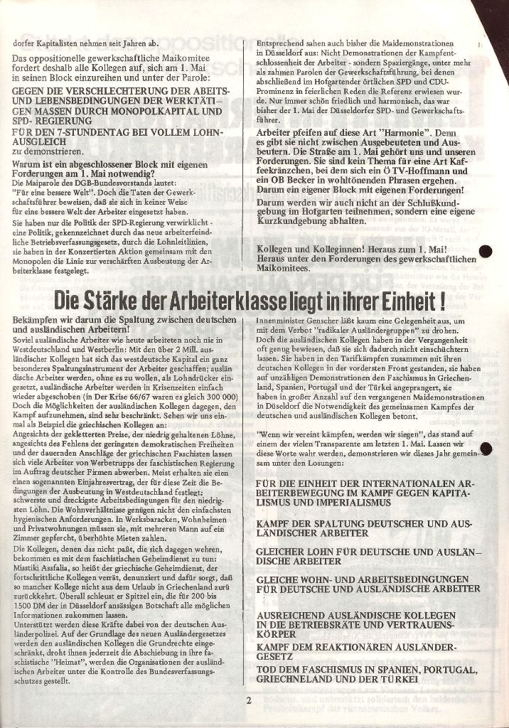 Duesseldorf KPD 002