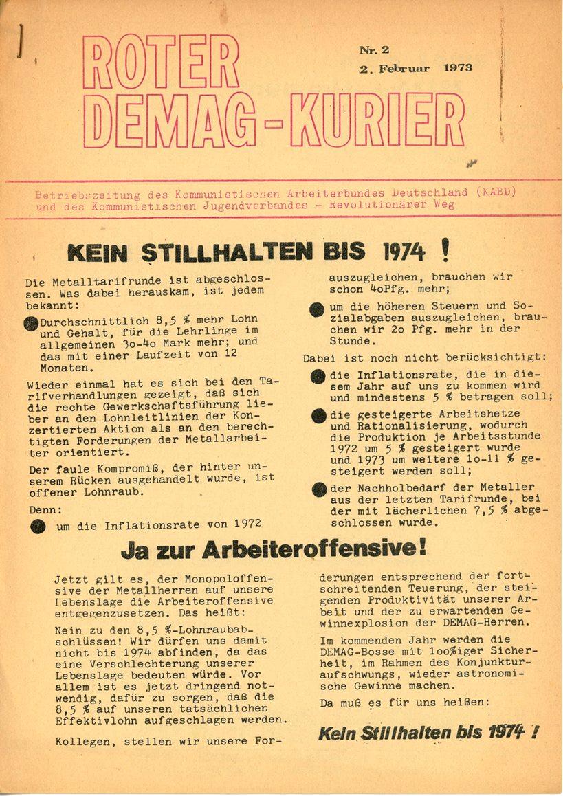 Duisburg_KABD_Roter_Demag_Kurier_1973_02_01